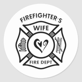 Firefighter's Wife Sticker