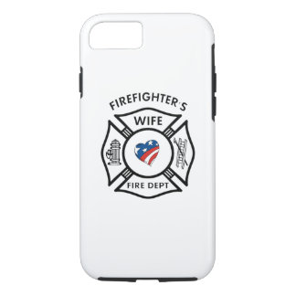 Firefighters Wife USA iPhone 7 Case