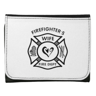 Firefighters Wife Leather Wallets