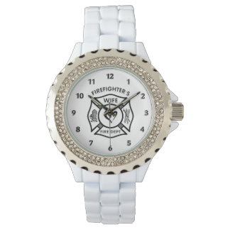 Firefighters Wife Wrist Watches