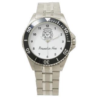 Firefighters Wife Wristwatch