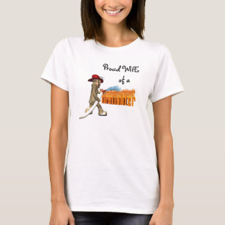 Firefighter's Wife's Pride T-Shirt