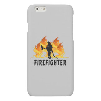 Firefighting Flames iPhone 6 Plus Case