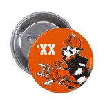 Firefighting Pete - Colour 6 Cm Round Badge