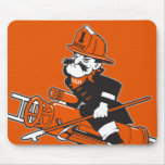 Firefighting Pete - Colour Mouse Pad