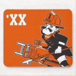 Firefighting Pete - Colour Mousemats