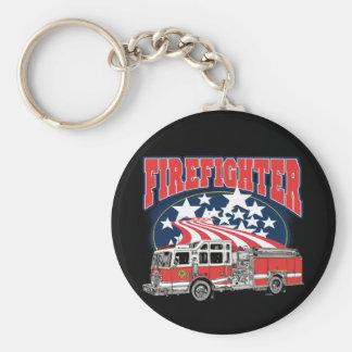 Firefighting Truck Key Ring
