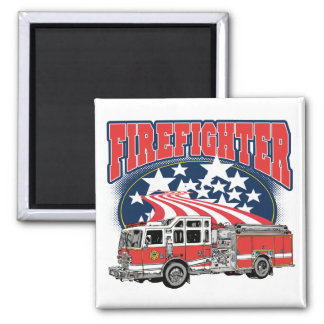 Firefighting Truck Magnet