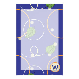 Fireflies Over Water Stationery