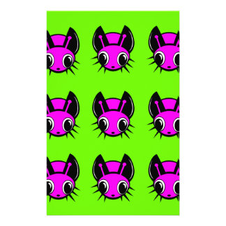 Fireflies pattern personalised stationery