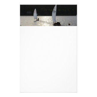 Firefly and Tasar Sailboats Customized Stationery