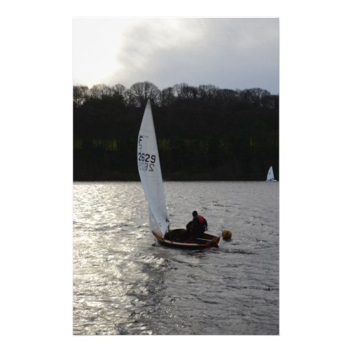 Firefly Dinghy In The Winter Sun Personalized Stationery