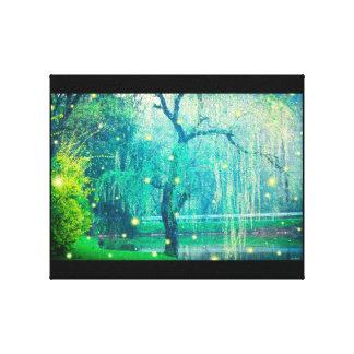 Firefly Fireflies Canvas Print