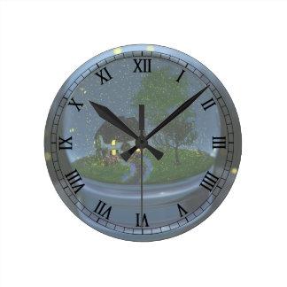 Firefly Globe Clock