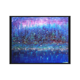 Firefly Reflections Canvas Print