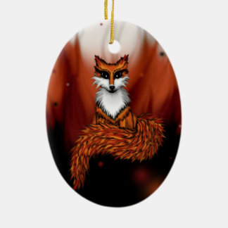 Firefox Christmas Ornament