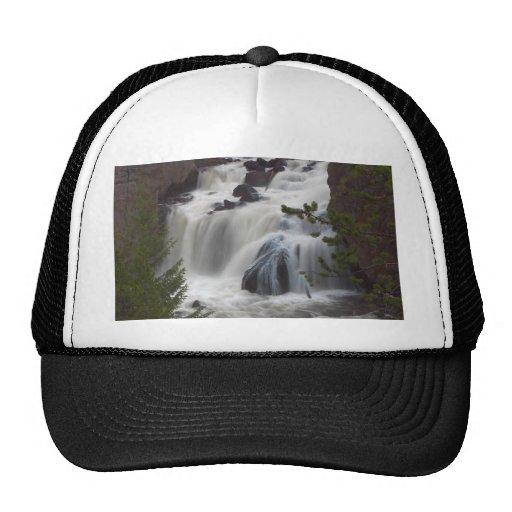 Firehole Falls At Dusk Hat