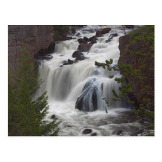 Firehole Falls At Dusk Post Cards
