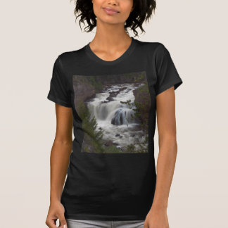 Firehole Falls At Dusk Shirts