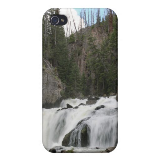 Firehole Falls iPhone 4 Case