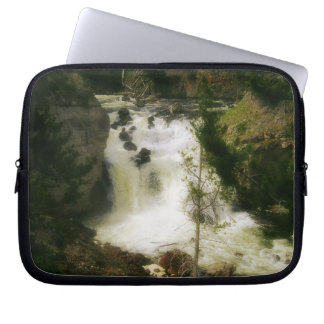 Firehole Falls Laptop Cover Computer Sleeve