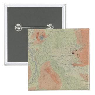 Firehole Geyser Basin 15 Cm Square Badge