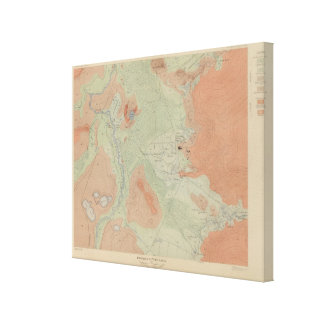 Firehole Geyser Basin Gallery Wrap Canvas