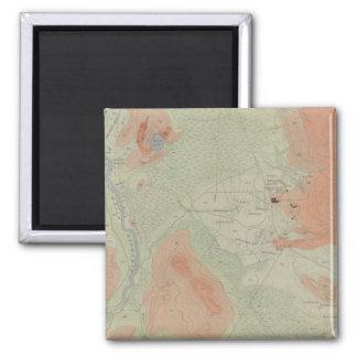Firehole Geyser Basin Fridge Magnets