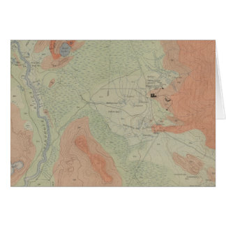 Firehole Geyser Basin Greeting Card