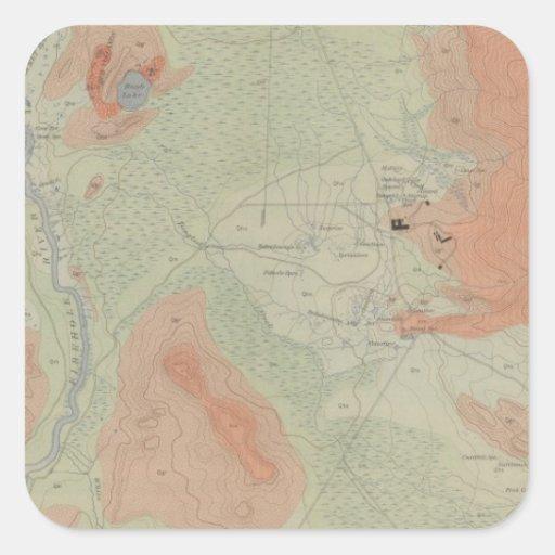 Firehole Geyser Basin Stickers