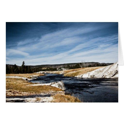 Firehole River Card