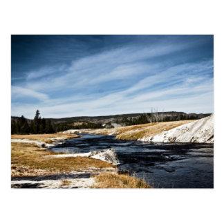 Firehole River Postcard