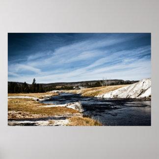 Firehole River Print
