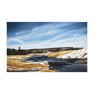 Firehole River Wrapped Canvas Gallery Wrap Canvas