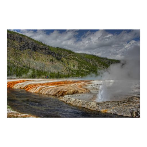 Firehole River - Yellowstone Park Posters