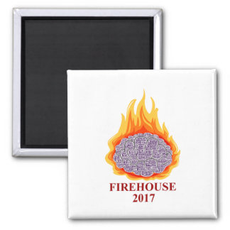 Firehouse 2017 Word Cloud Magnet