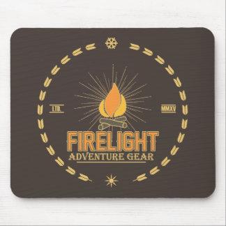 Firelight - Adventure Gear Mouse Pad