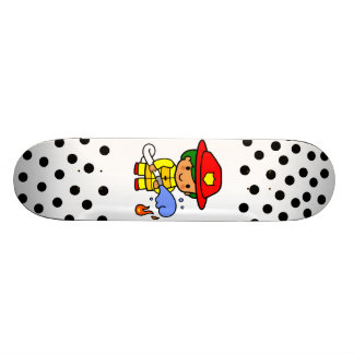 Fireman 20 Cm Skateboard Deck