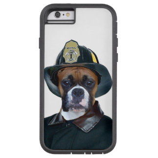 Fireman Boxer Dog Tough Xtreme iPhone 6 Case