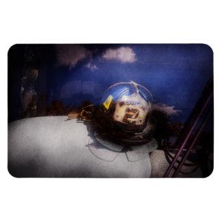 Fireman - Captains hat Rectangular Photo Magnet