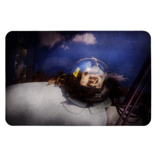 Fireman - Captains hat Rectangular Photo Magnet