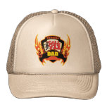 Fireman Dad Fathers Day Gifts Cap