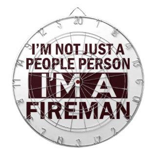 fireman design dartboards