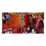 Fireman - Engine no 2 Personalised Photo Card