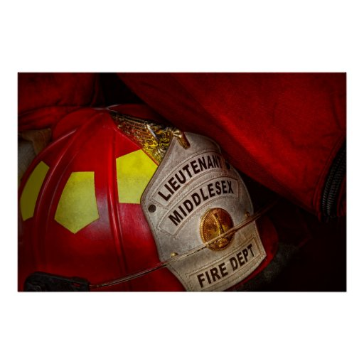 Fireman - Everyone loves red Print