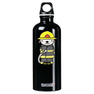 Fireman Fire-woman Puppy Dog Cute SIGG Traveler 0.6L Water Bottle