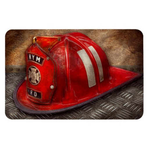 Fireman - Hat - A childhood dream Magnet
