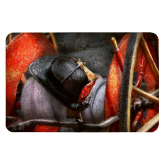 Fireman - Hat - South Plainfield Fire Dept Rectangular Photo Magnet