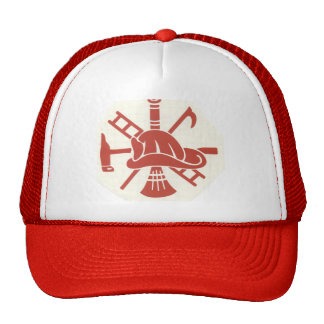 Fireman helmet cap