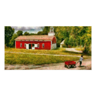 Fireman - I want to be a firefighter Photo Greeting Card